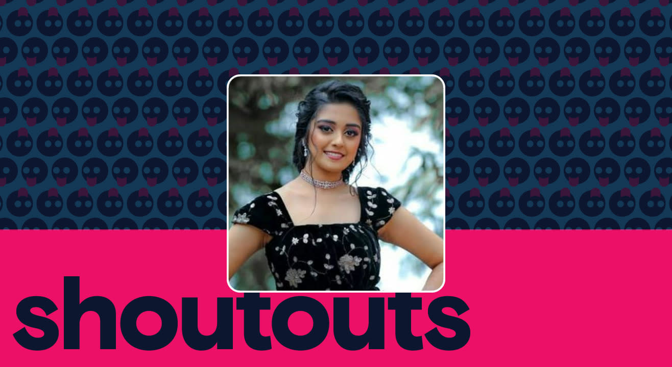 Request a shoutout by Ankita Amar