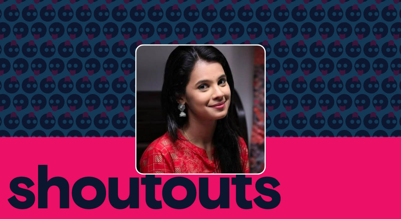 Request a shoutout by Anusha Hegde