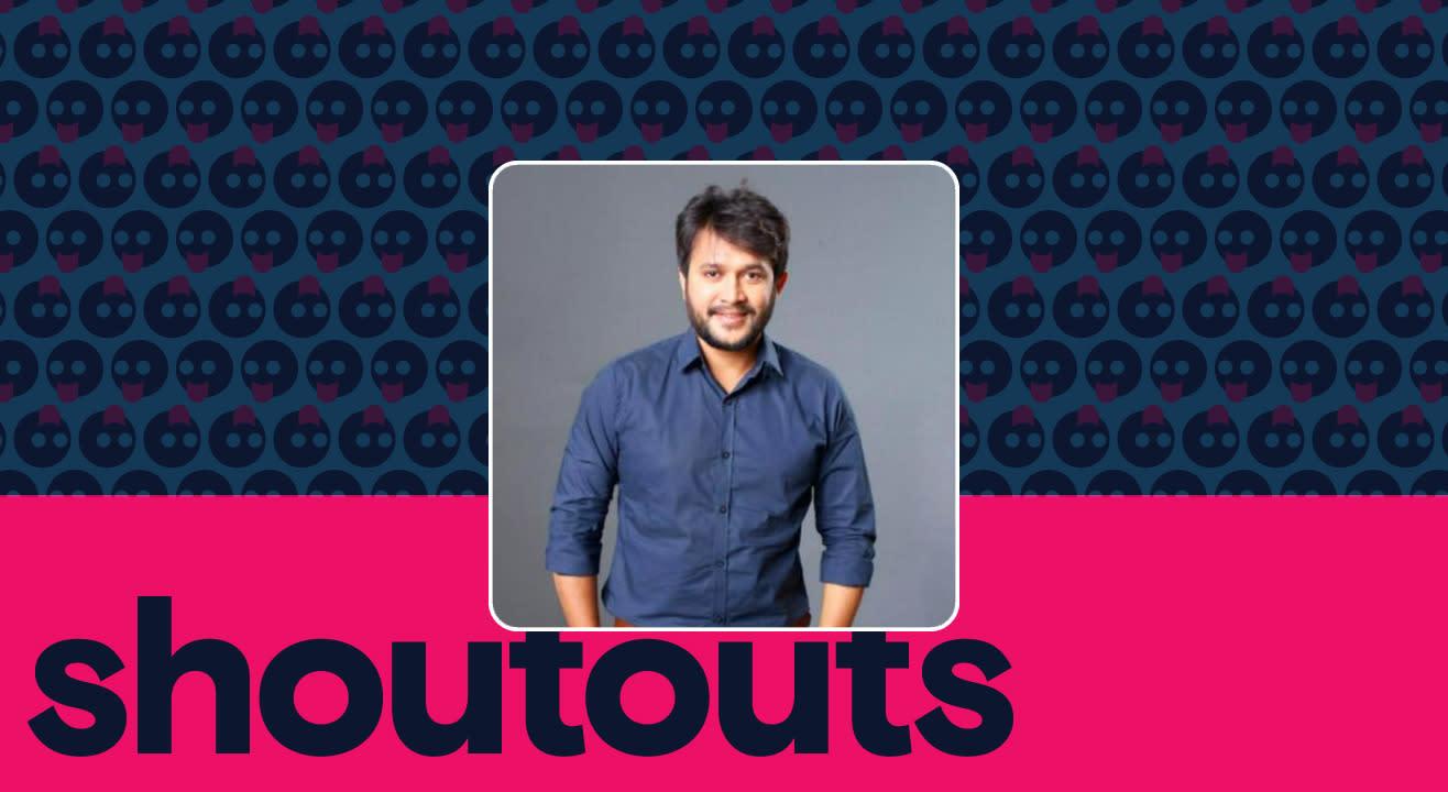 Request a shoutout by Santosh Kumar