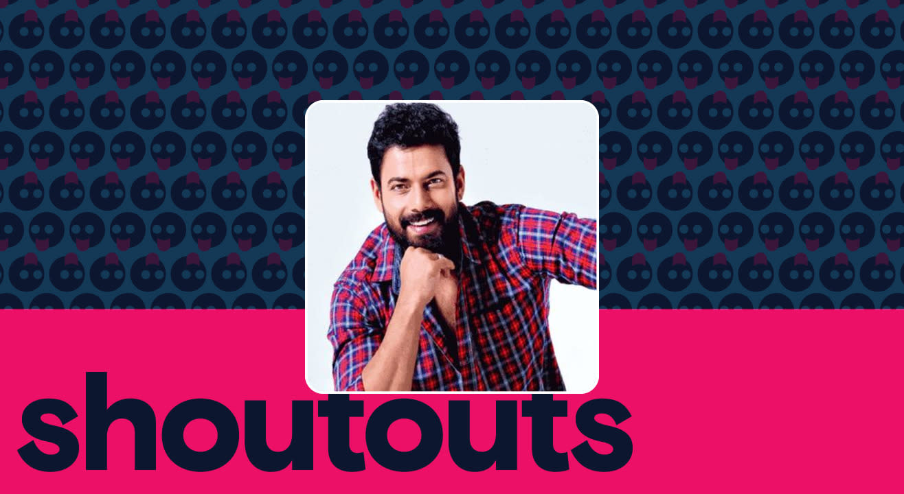 Request a shoutout by Praveen Tej