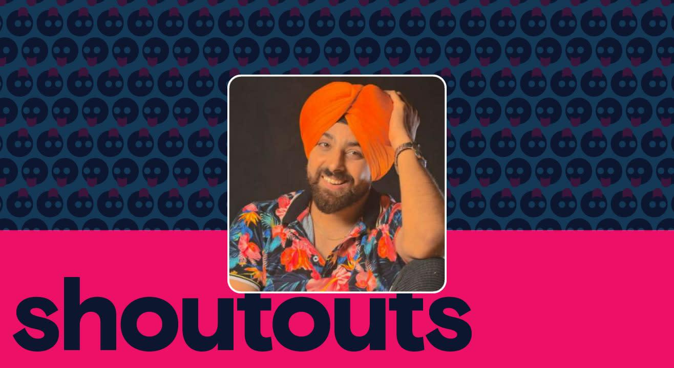 Request a shoutout by Kanwalpreet Singh