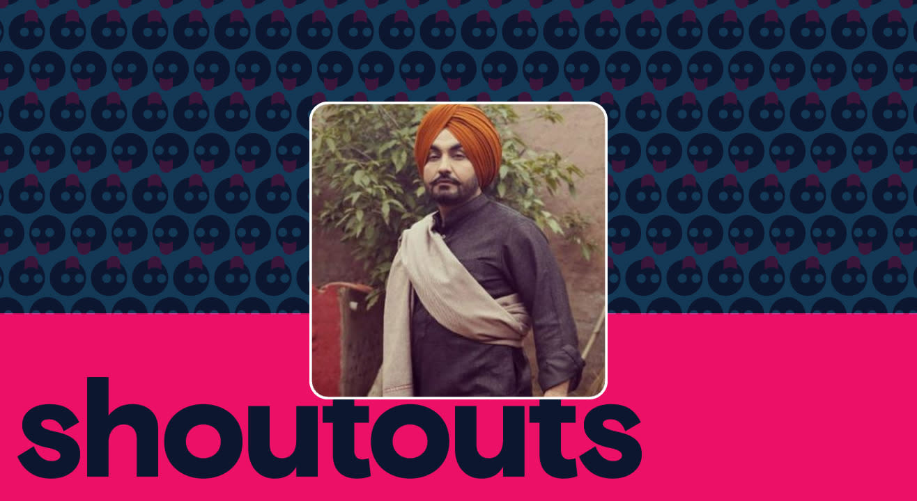 Request a shoutout by Ravinder Grewal