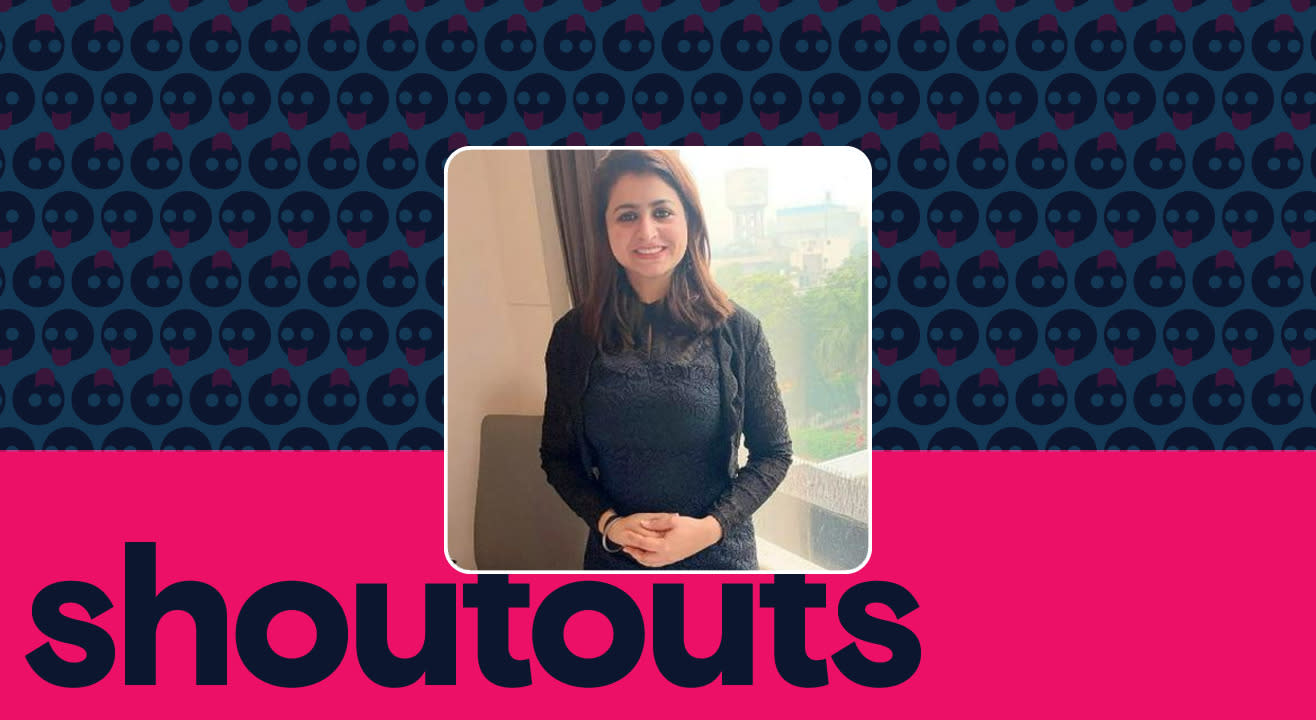 Request a shoutout by Simranjit Kaur