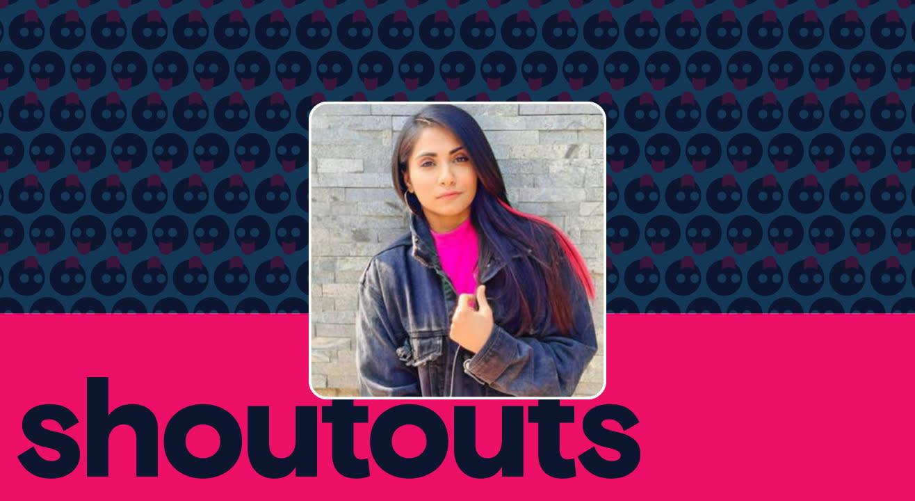 Request a shoutout by Shivani Nihalani