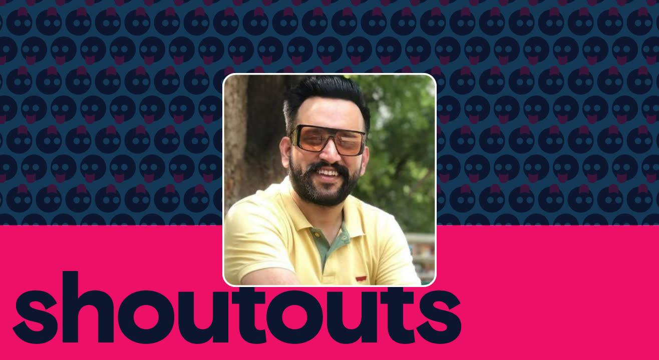 Request a shoutout by Laadi Kangarh