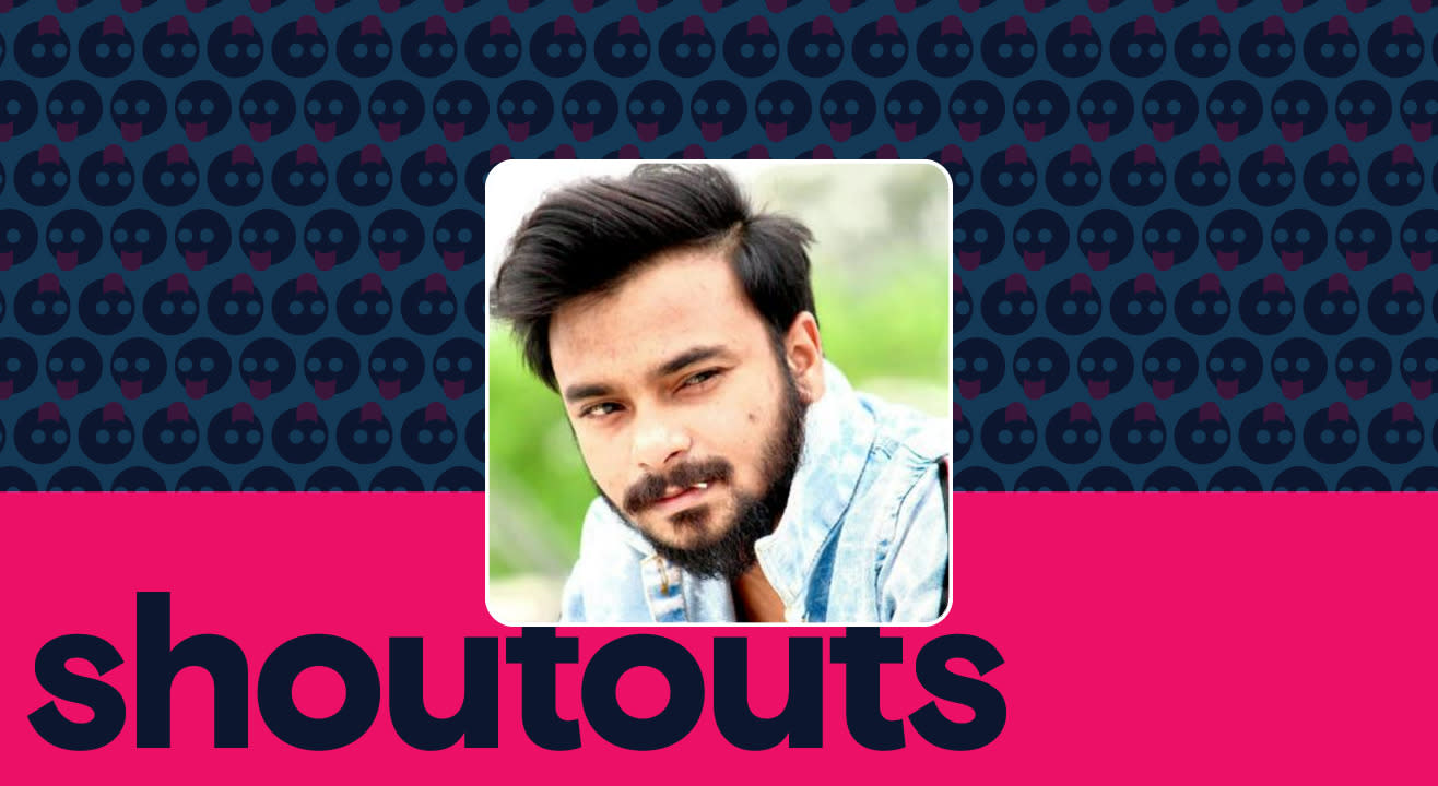 Request a shoutout by Saurav Bagga