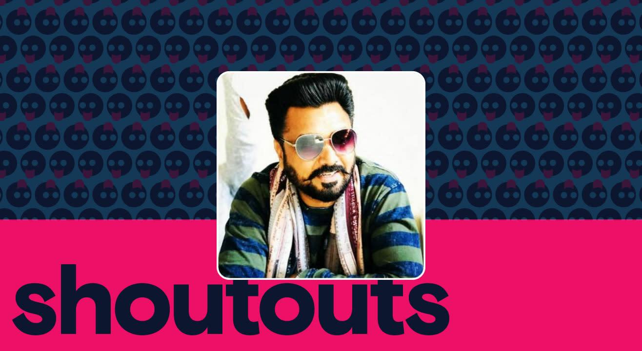 Request a shoutout by Sukhi Patran