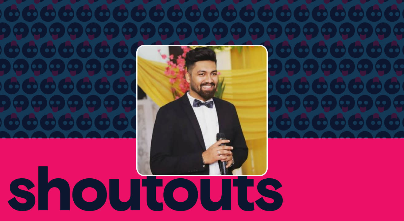 Request a shoutout by RJ Atishay