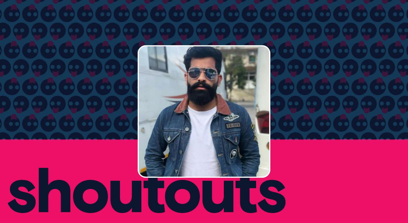 Request a shoutout by Aman Kotish
