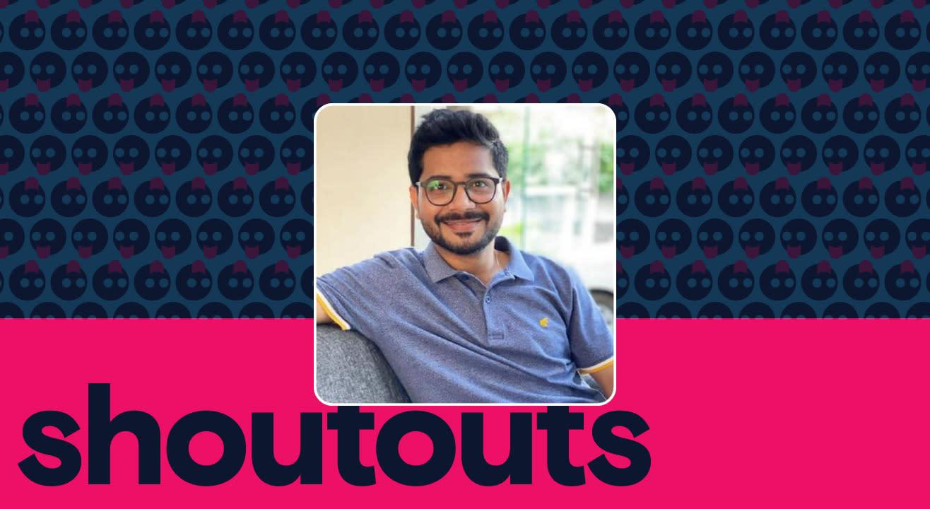 Request a shoutout by Anuj Tiwari