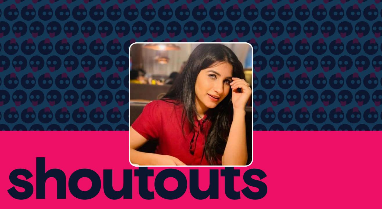 Request a shoutout by Pooja Brahmbhatt