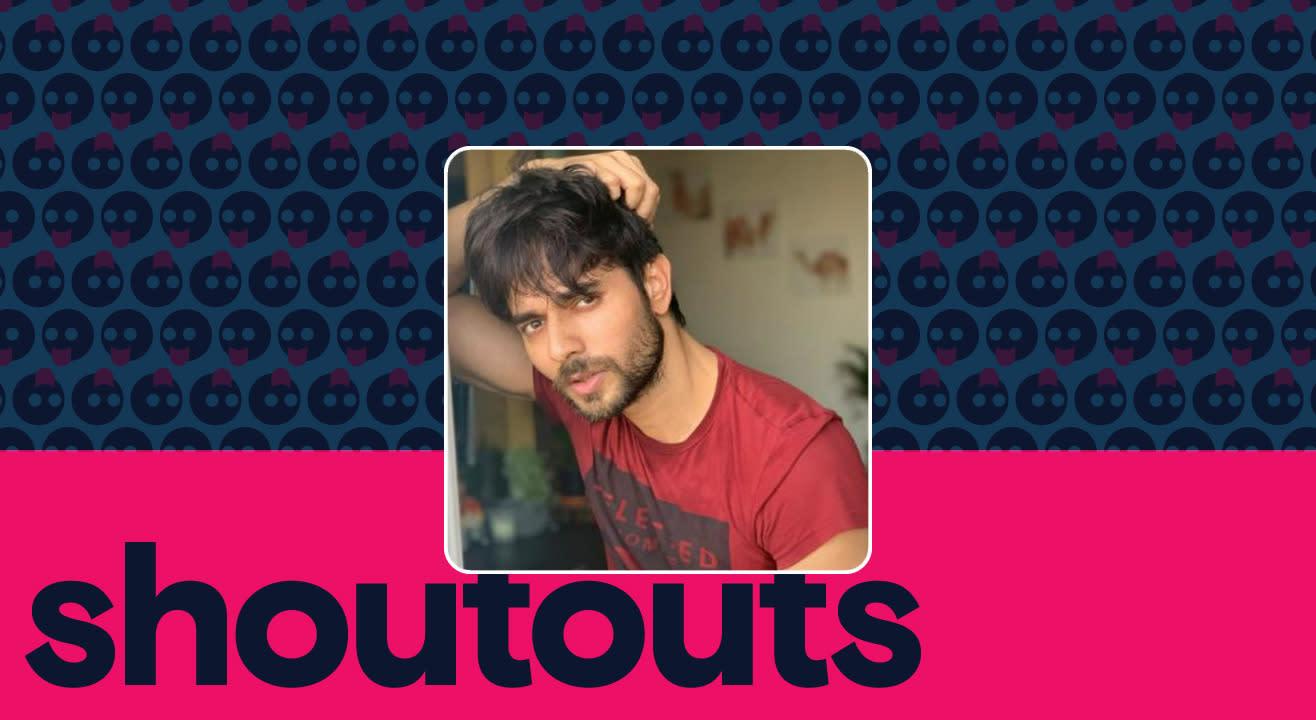 Request a shoutout by Ansh Bagri