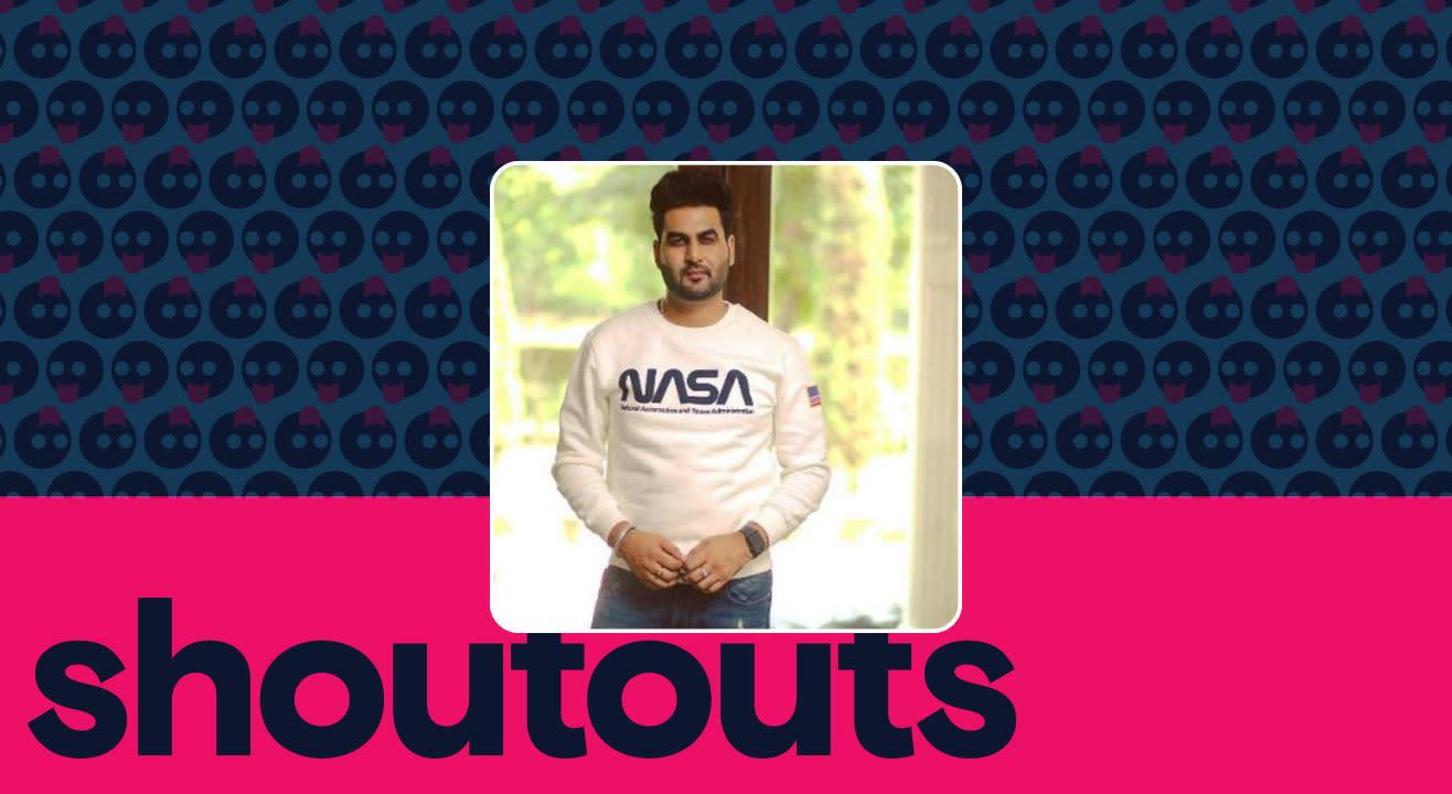 Request a shoutout by Joban Sandhu