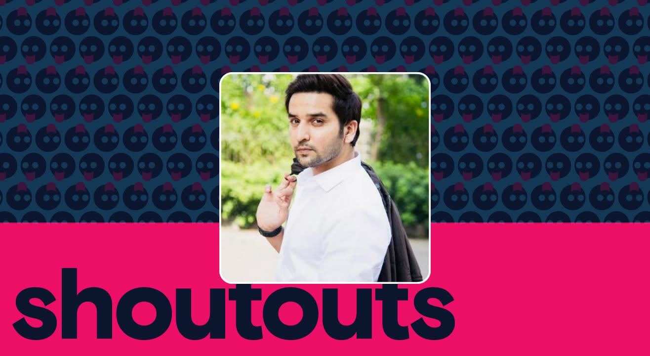 Request a shoutout by Puru Chibber