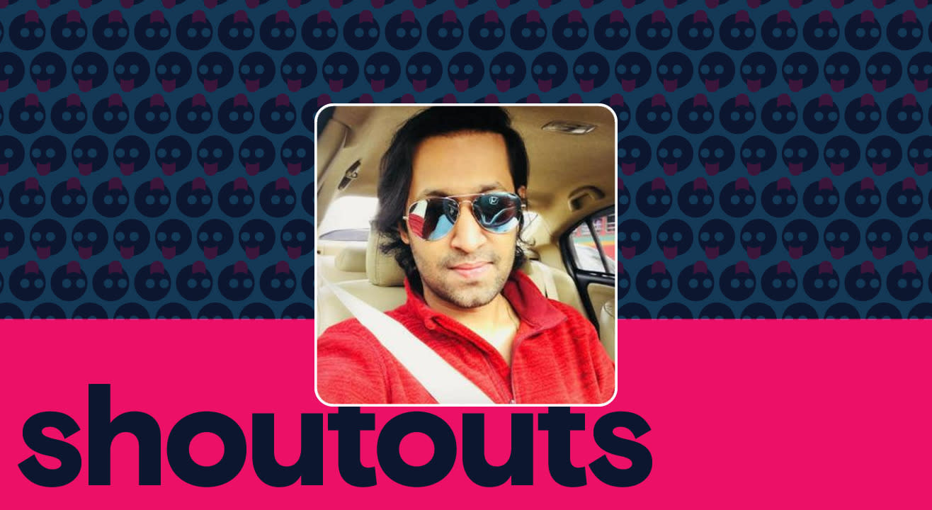 Request a shoutout by Aakash Dabhade