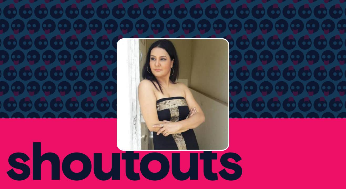 Request a shoutout by Sucheta Khanna