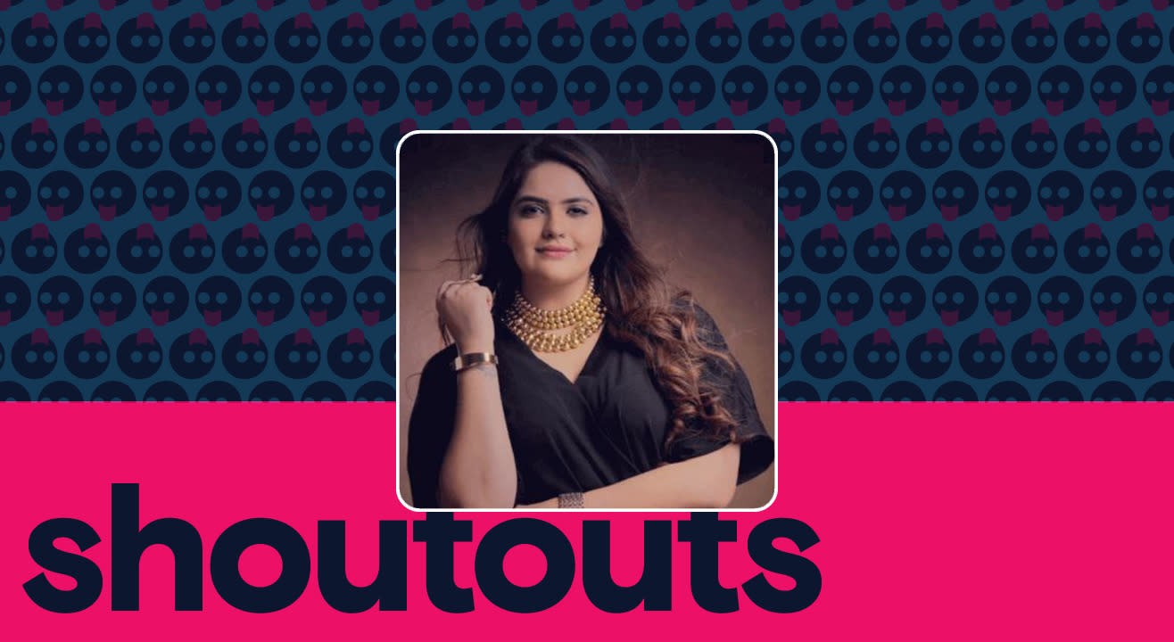 Request a shoutout by Anjali Anand