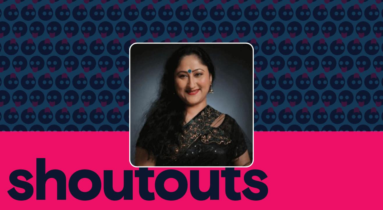 Request a shoutout by Jayati Bhatia