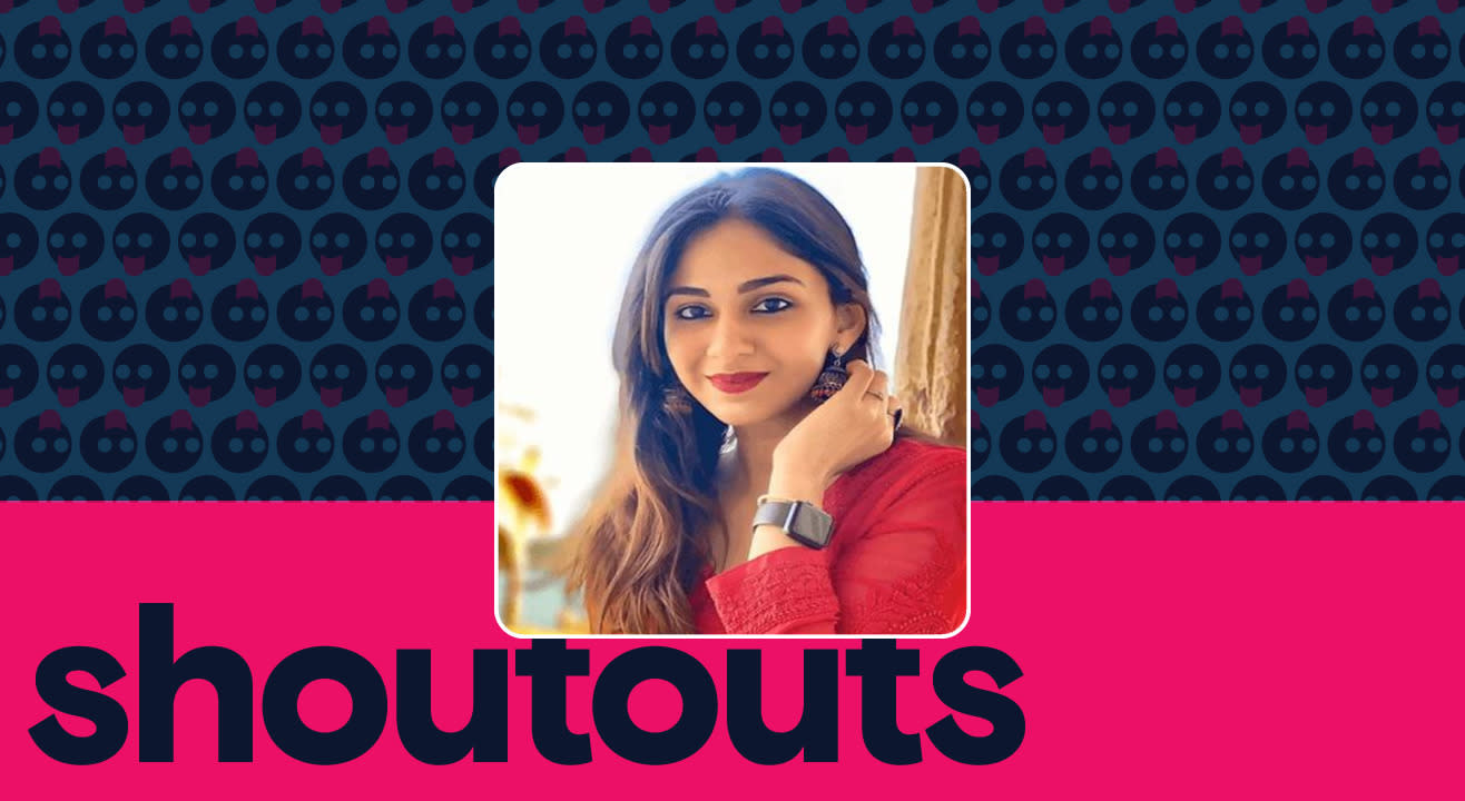 Request a shoutout by Vidhi Pandya