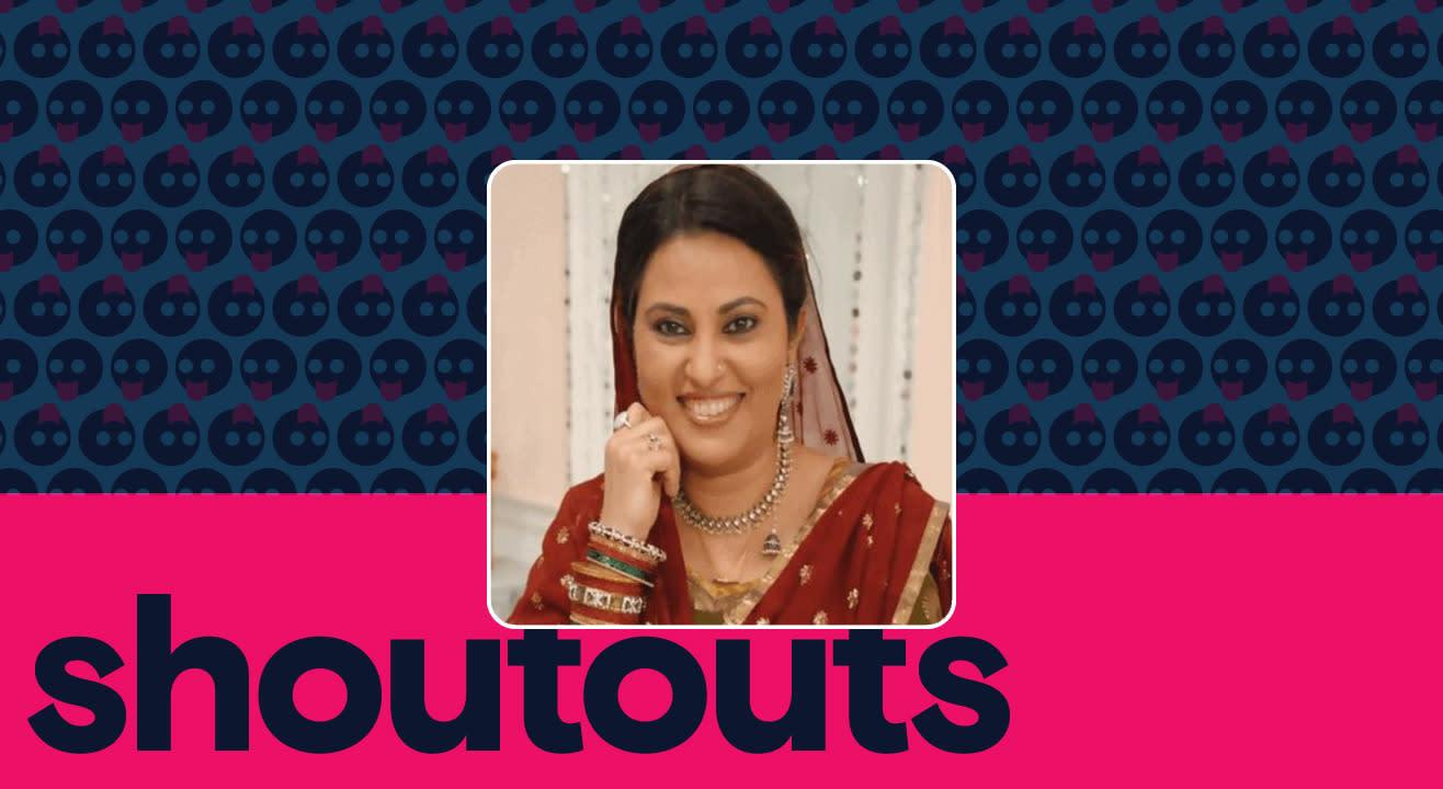 Request a shoutout by Nilu Kohli