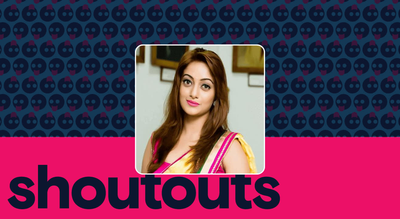 Request a shoutout by Manasi Naik