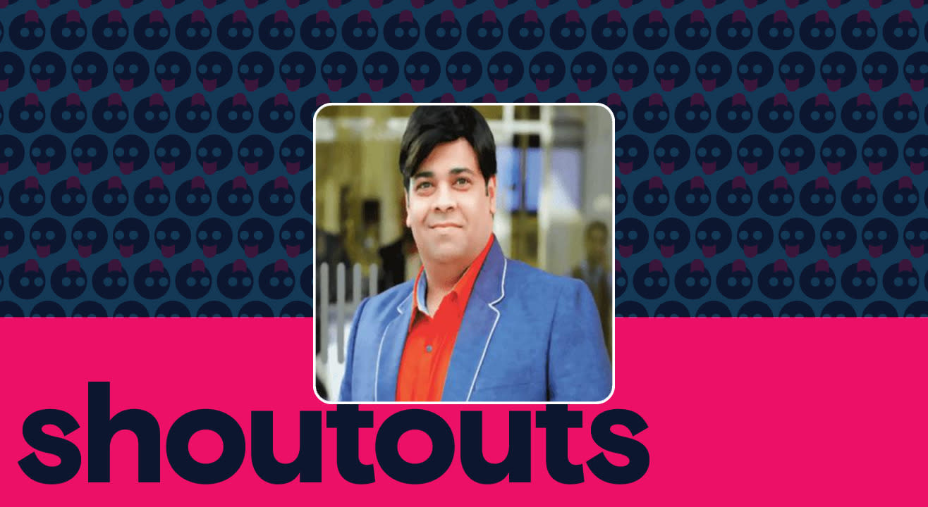 Request a shoutout by Kiku Sharda