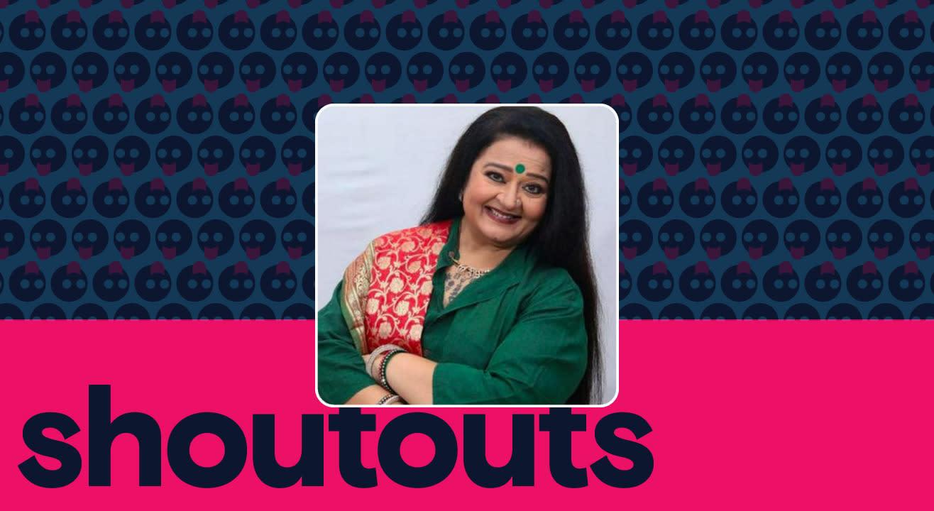 Request a shoutout by Apara Mehta