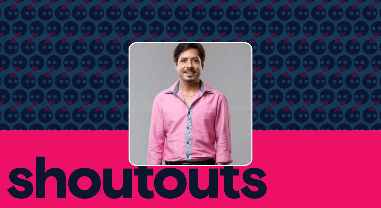 Request a shoutout for Amit Mistry