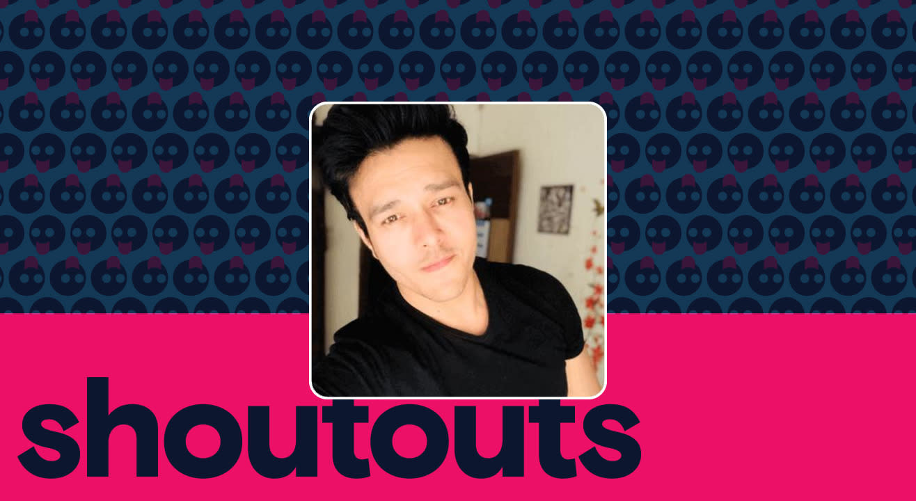 Request a shoutout for Aniruddh Dave
