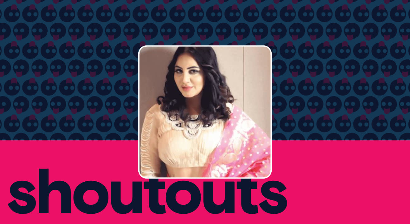 Request a shoutout for Arshi Khan