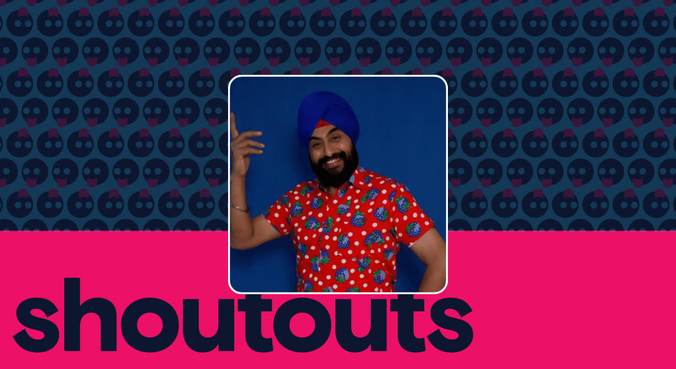 Request a shoutout for Balvinder Singh