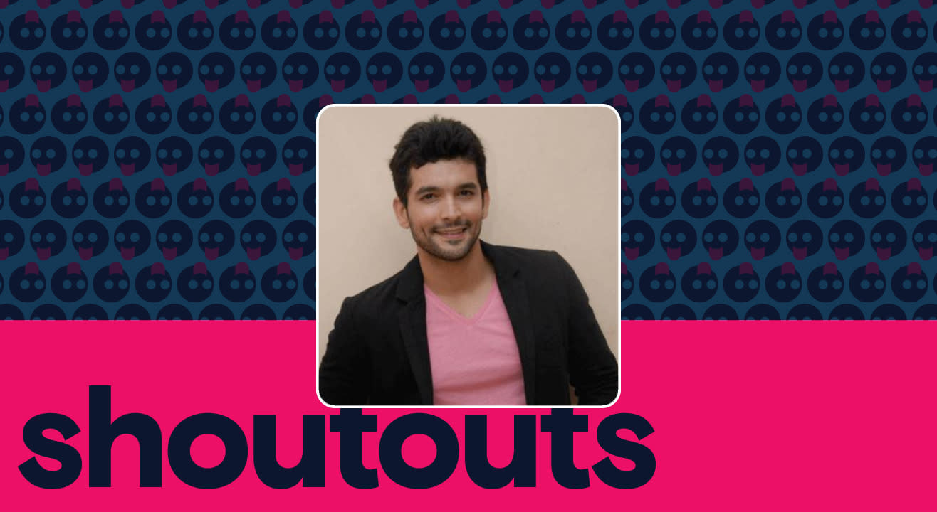 Request a shoutout for Diganth