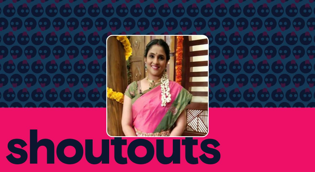 Request a shoutout for Gayatri Bhargavi