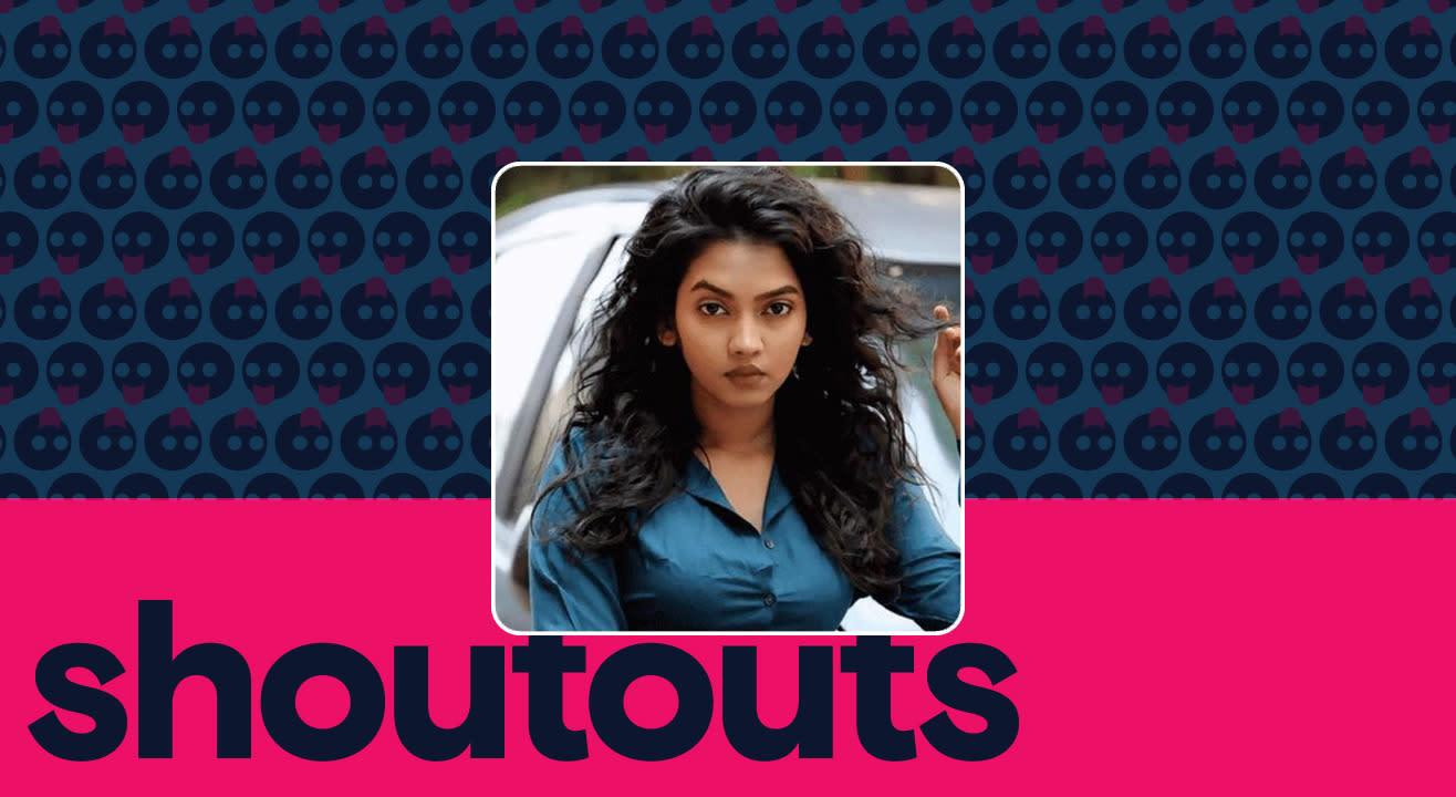 Request a shoutout for Meera Joshi