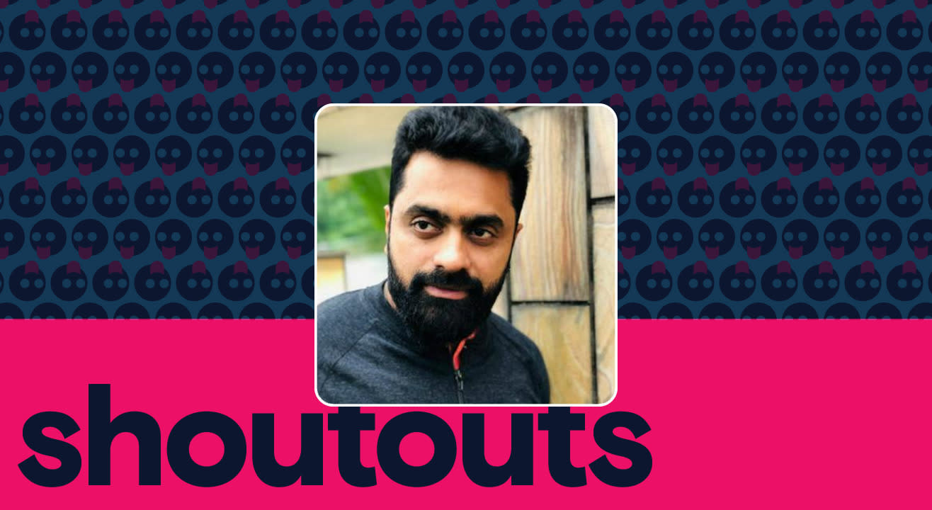 Request a shoutout for Nanda Kishore