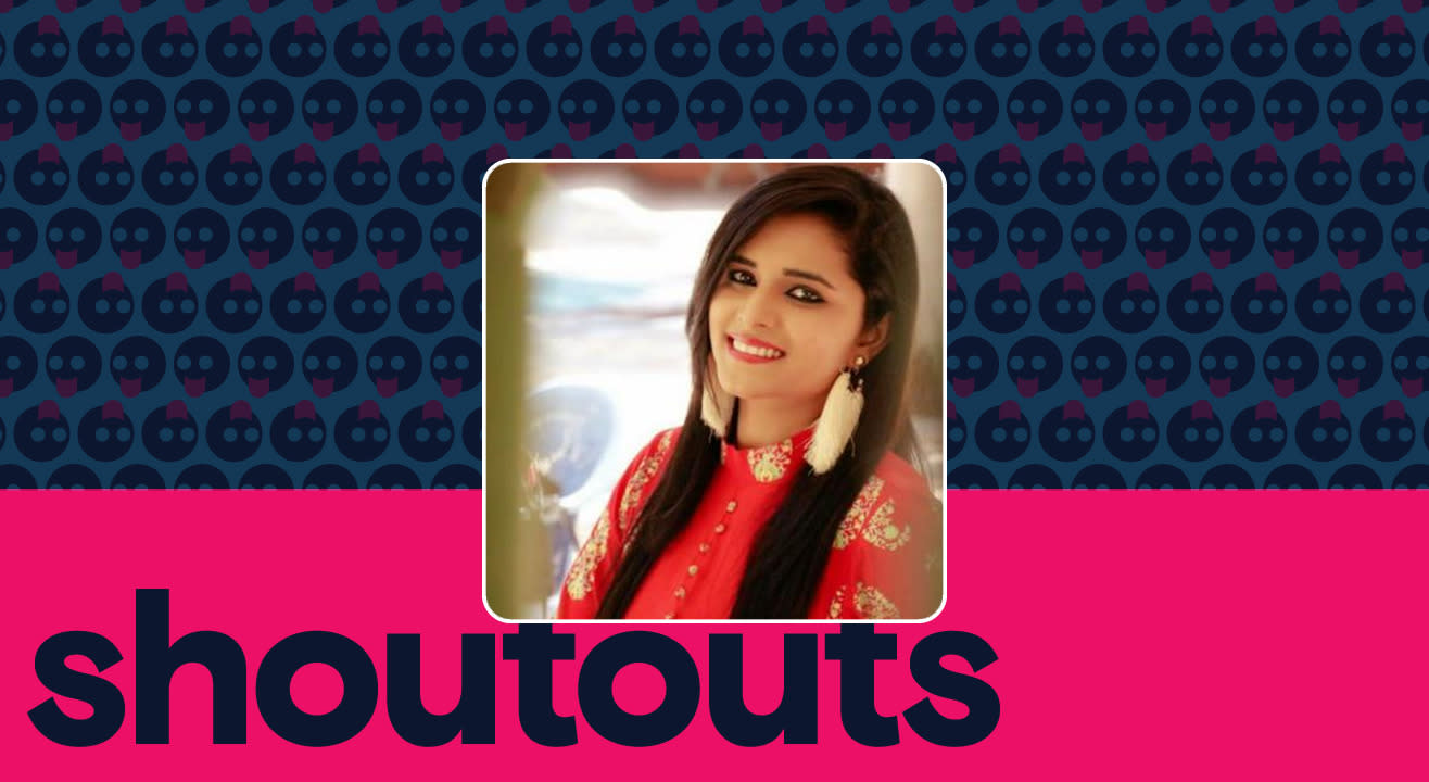 Request a shoutout for Navya