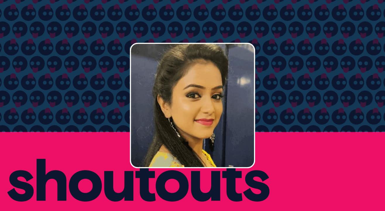 Request a shoutout for Rashmi Prabhakar
