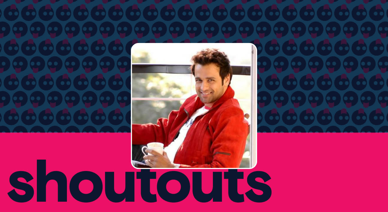 Request a shoutout for Rohit Roy