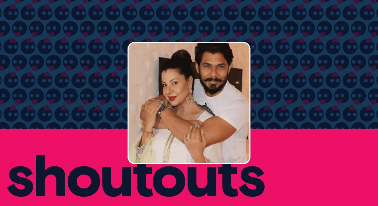 Request a shoutout for Sambhavna and Avinash