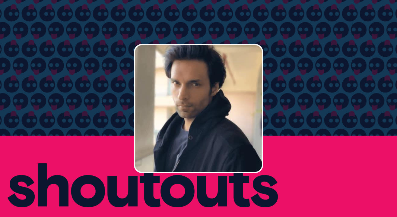 Request a shoutout for Shaleen Malhotra