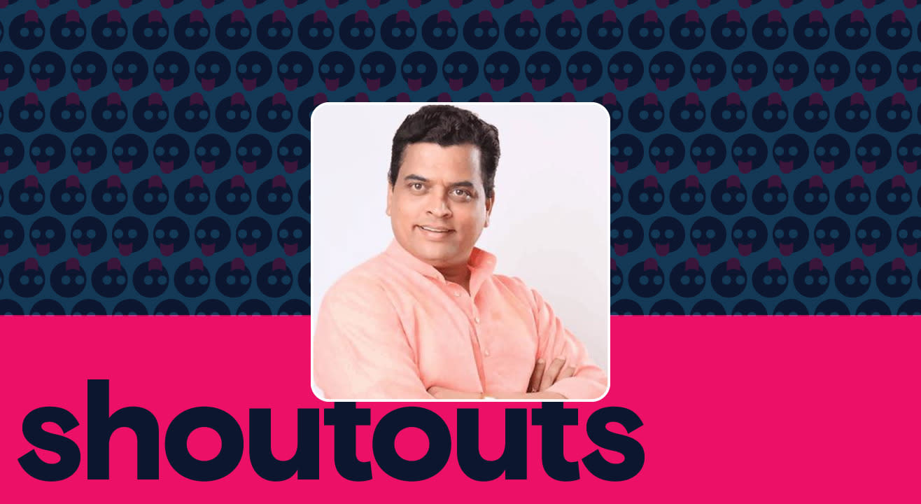 Request a shoutout for Sharad Ponkshe