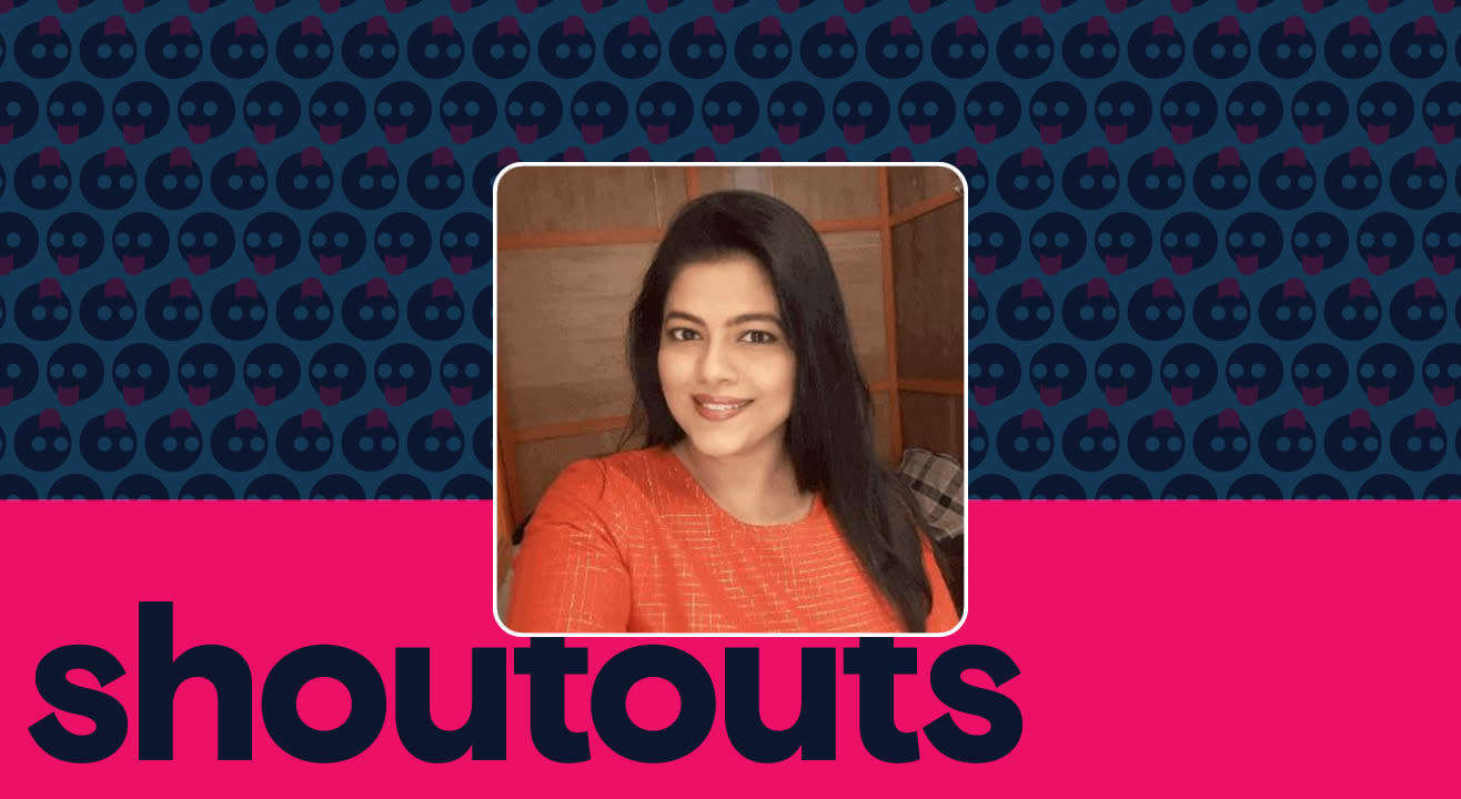 Request a shoutout for Sneha Raikar