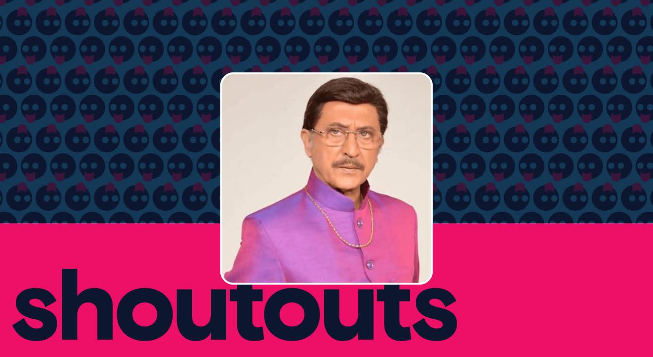 Request a shoutout for Tej Sapru