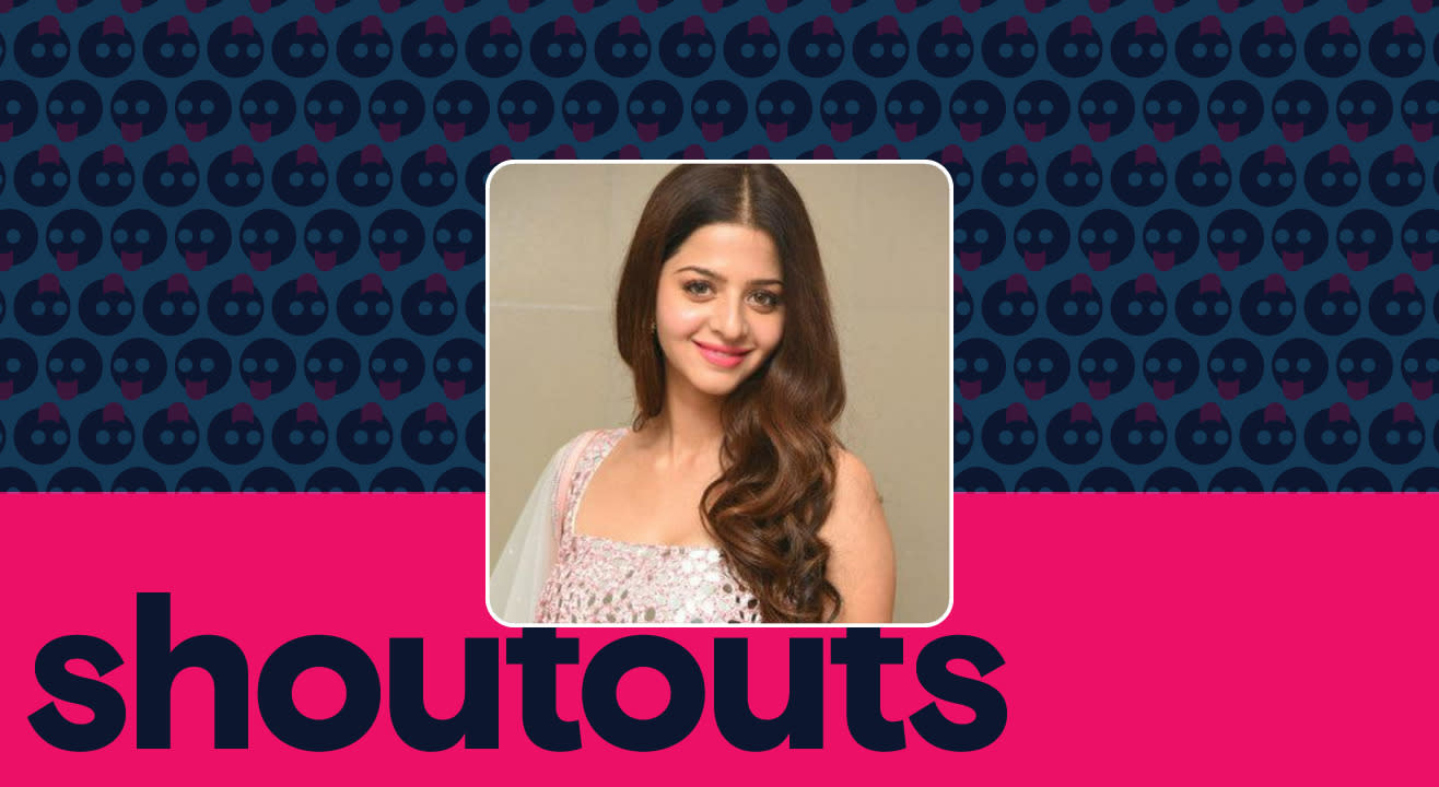 Request a shoutout for Vedhika