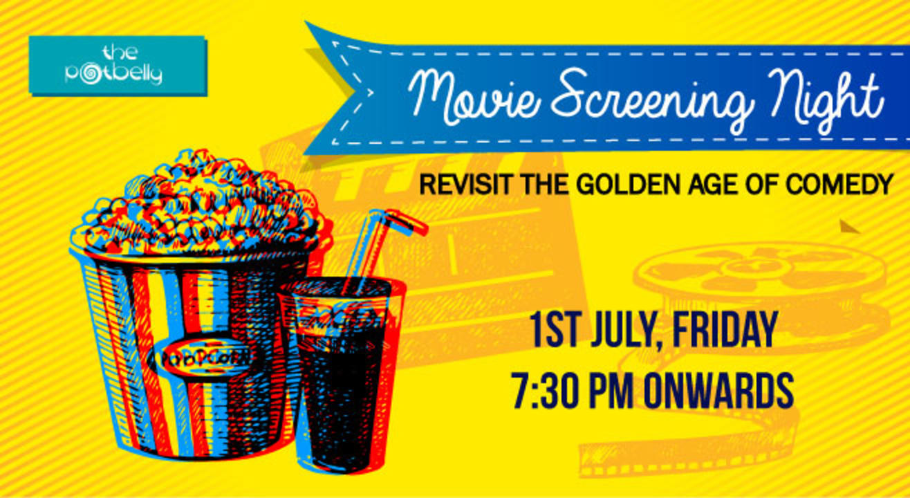Potbelly Rooftop Cafe Presents - Movie Screening Night