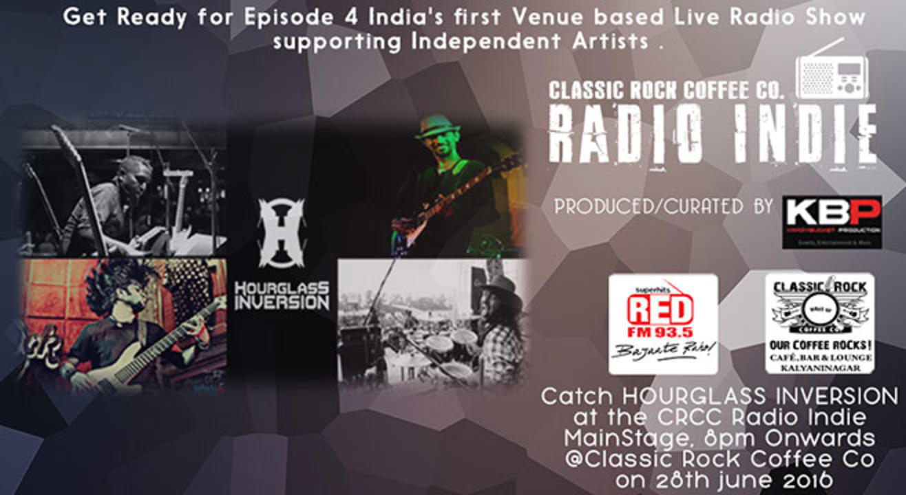 RSVP to Classic Rock Coffee Co  Radio Indie Episode 4 with Hourglass