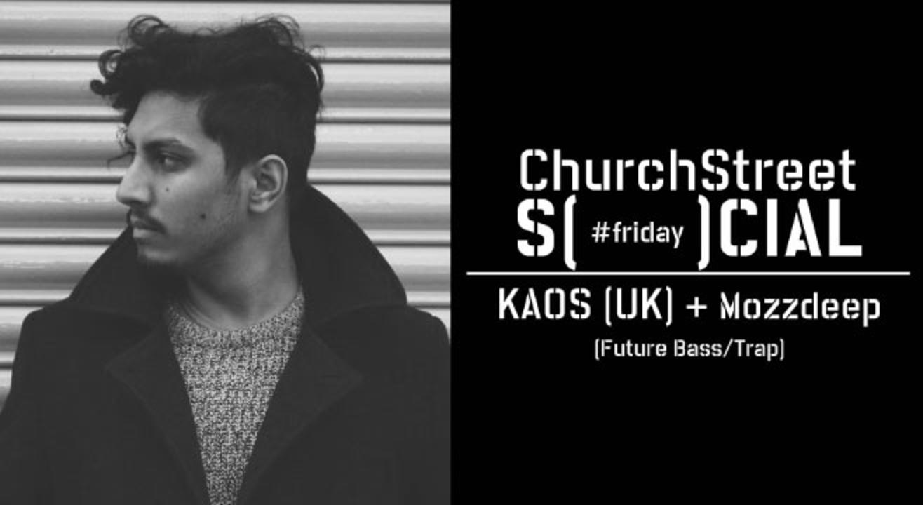 Rsvp To Kaos Uk Mozzdeep At Church Street Social Bangalore Dub Step
