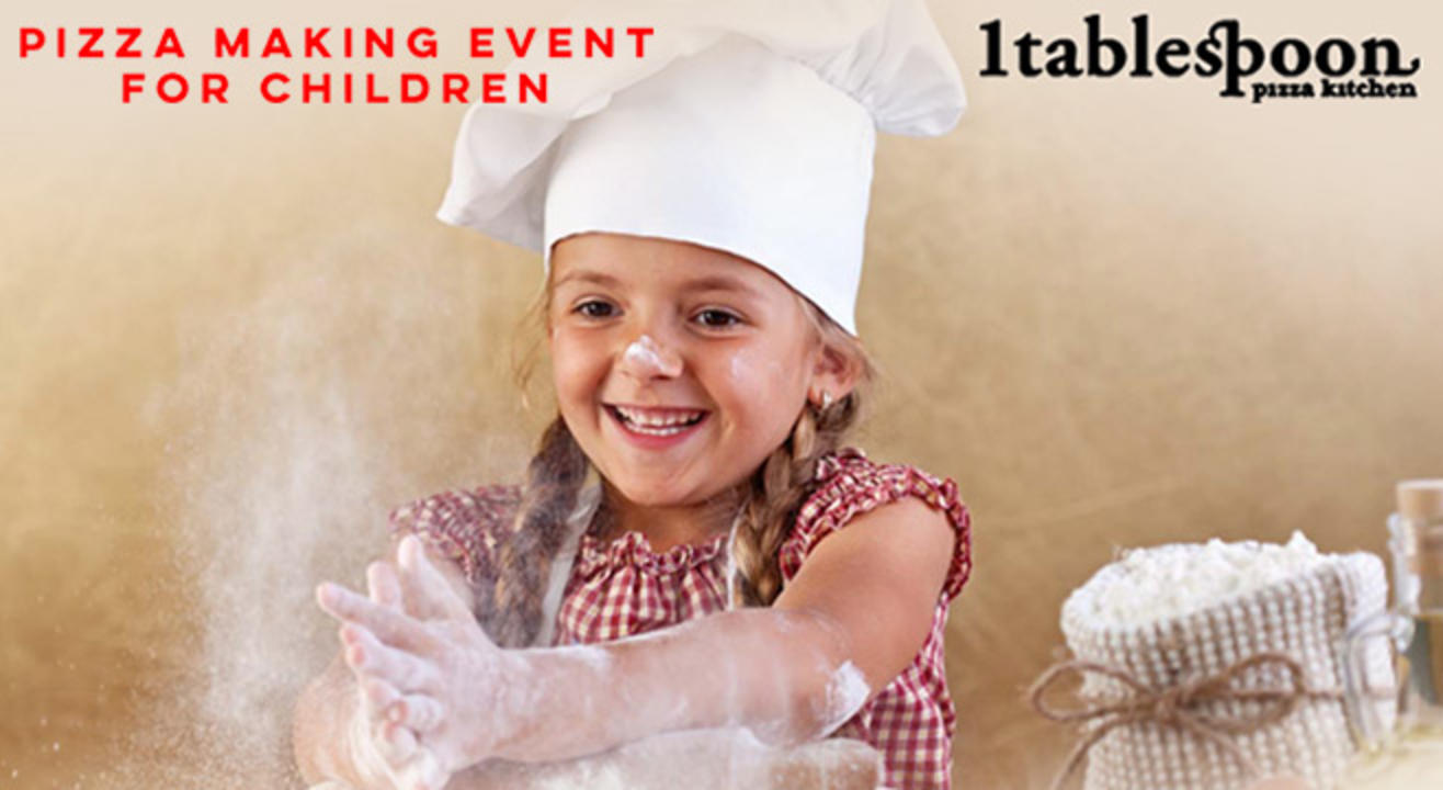 Pizza making event for children