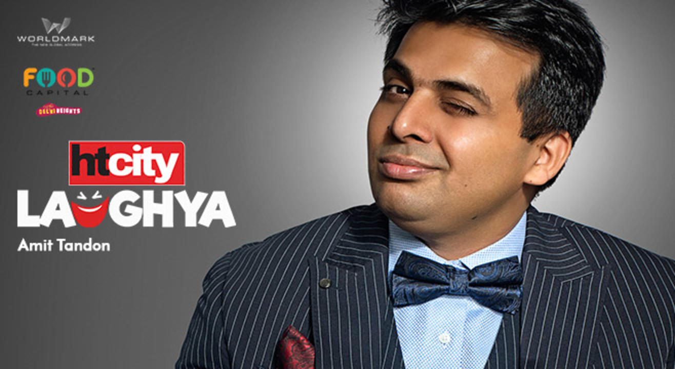 HT City Laughya with Amit Tandon