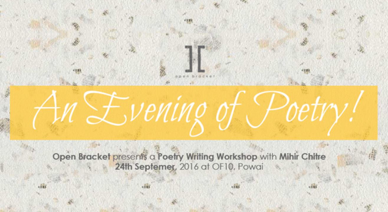 Open Bracket presents- An evening of Poetry!